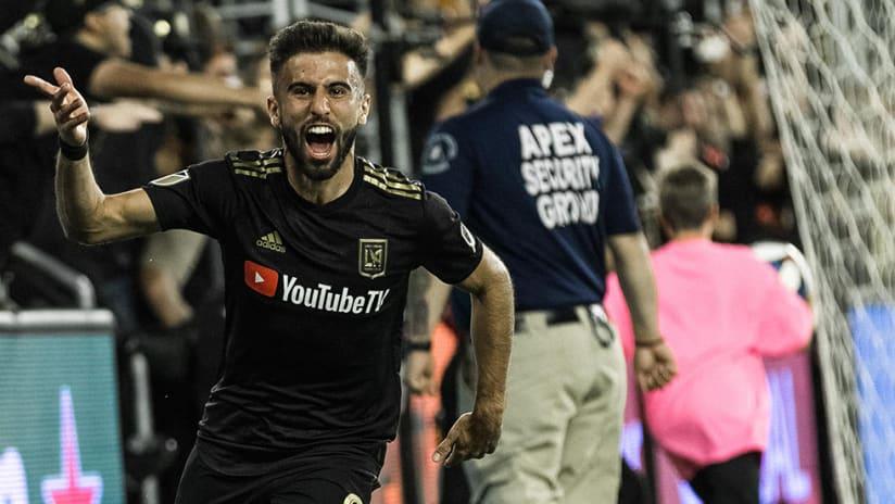 Diego Rossi - LAFC - Celebrate