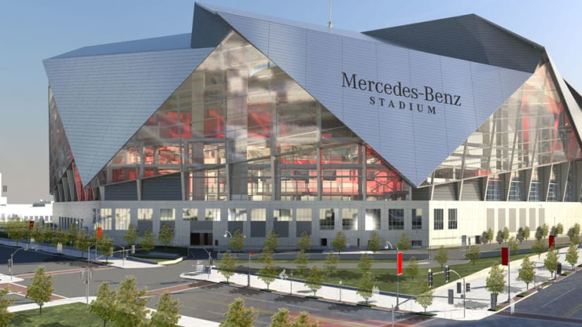 Mercedes-Benz Stadium - Atlanta United - Northside - August 2015