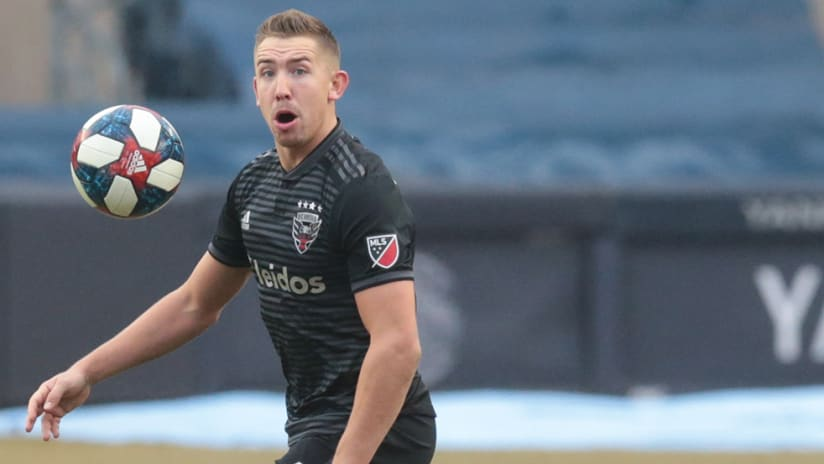 Russell Canouse – D.C. United –ball midair