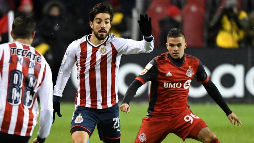 Rodolfo Pizarro - Auro - Chivas - Toronto FC