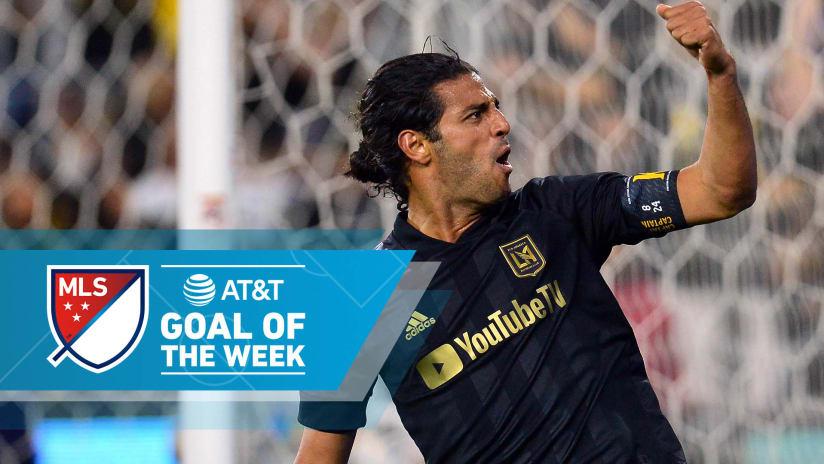 AT&T Goal of the Week - Week 2 - 2020 - Carlos Vela