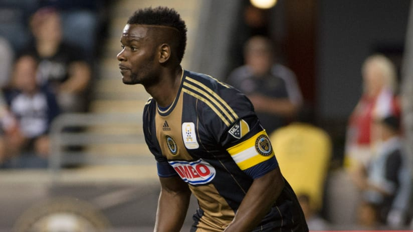 Maurice Edu - Philadelphia Union - Close up
