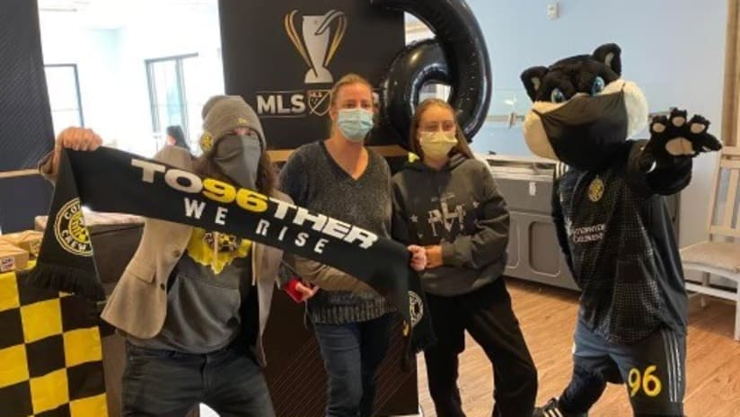 Columbus Crew MLS Cup Legacy Project