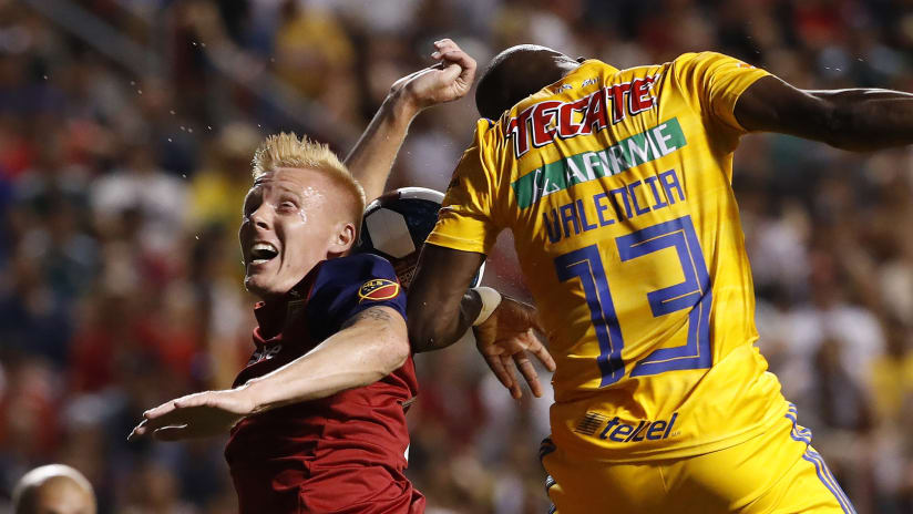 Justen Glad - Enner Valencia - RSL-TIG - Leagues Cup