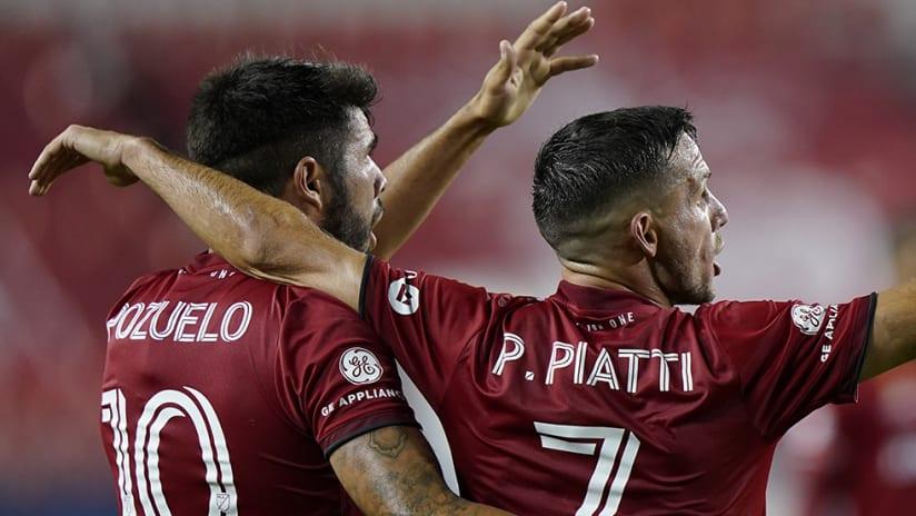 Pablo Piatti - Alejandro Pozuelo - Toronto FC - missed PK