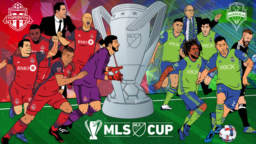 MLS Cup - 2017 - TORvSEA illustration