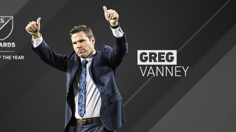 2017 Awards - Coach of the Year - Greg Vanney