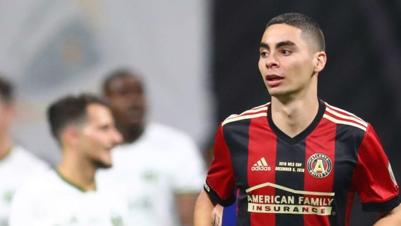 Miguel Almiron - solo photo - MLS Cup