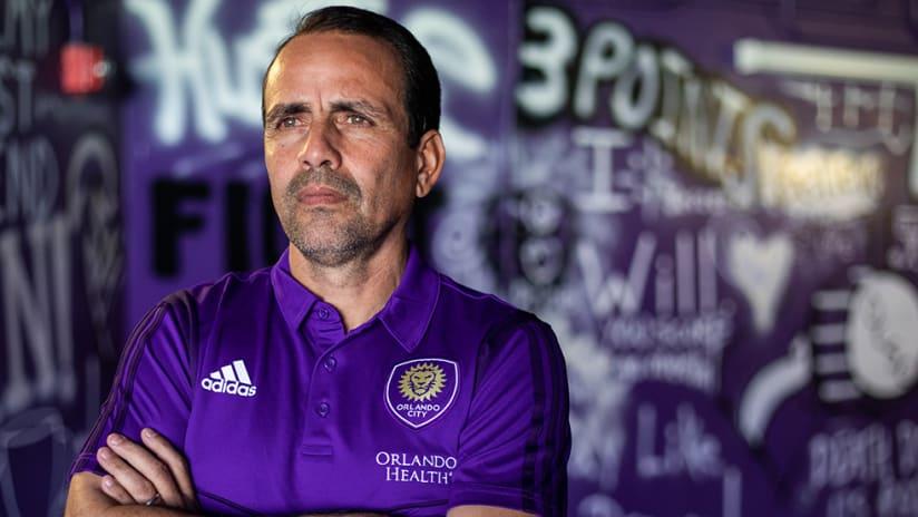 Oscar Pareja - Orlando City SC - Close up