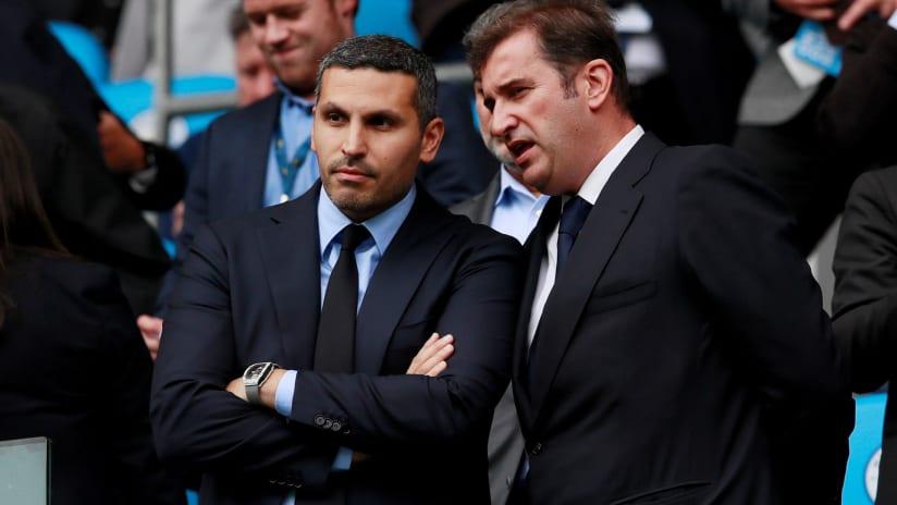 Khaldoon Al Mubarak - Ferran Soriano - City Football Group - NYCFC - Manchester City