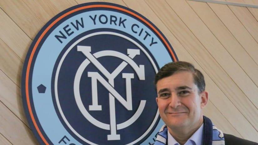 Jon Patricof, NYCFC president