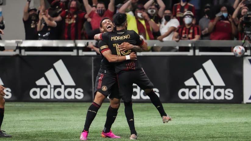 """Atlanta United rejoice in """"massive"""" last-gasp win in front of returning 17s"""