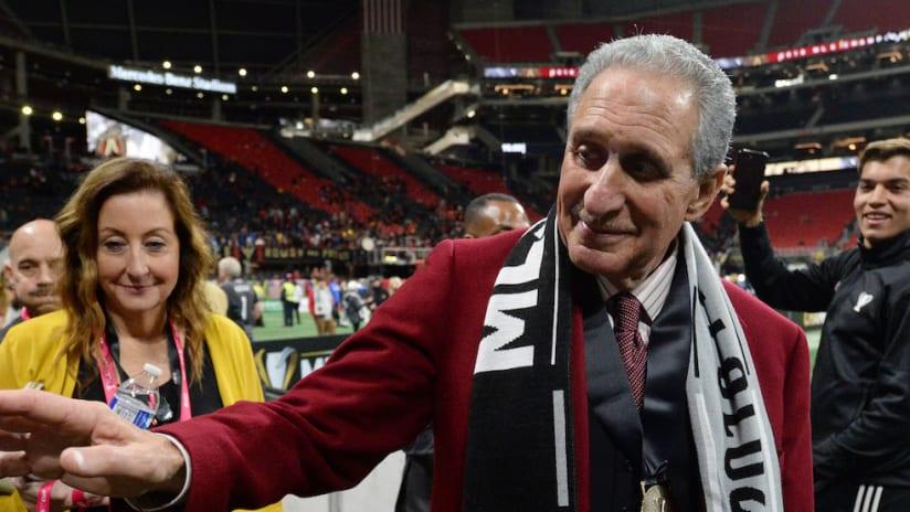 Atlanta United Owner Arthur Blank Named ESPN's Sports Philanthropist of the Year