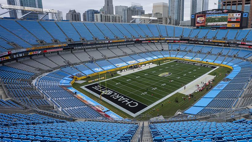 Charlotte FC - Bank of America Stadium - open shot