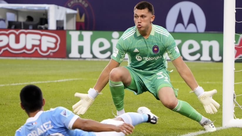 Remember the name: Fire's Gabriel Slonina becomes youngest starting goalkeeper in MLS history