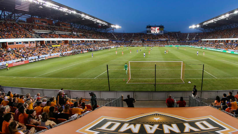 BBVA Compass Stadium - general and fans shot - Houston Dynamo