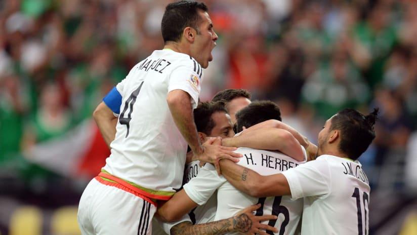 Mexico - Copa America - celebration