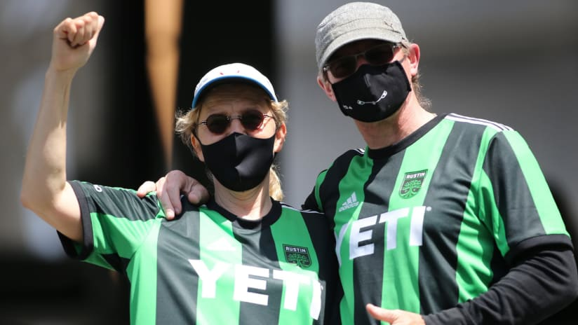 Austin FC fans turn out in force for MLS opener vs. LAFC