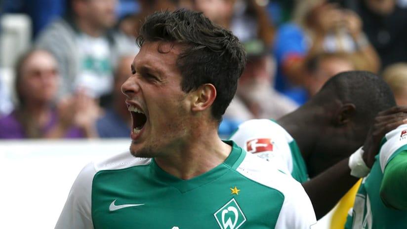 Zlatko Junuzovic -- Celebration -- Werder Bremen