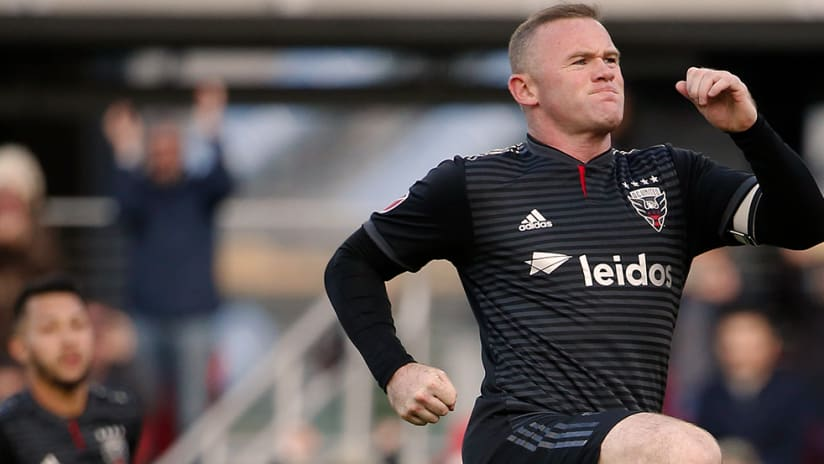 Wayne Rooney - DC United - Jumping in celebration