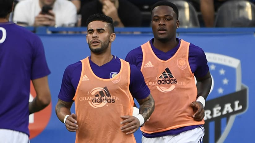 Dom Dwyer and Cyle Larin - Orlando City SC - August 5, 2017