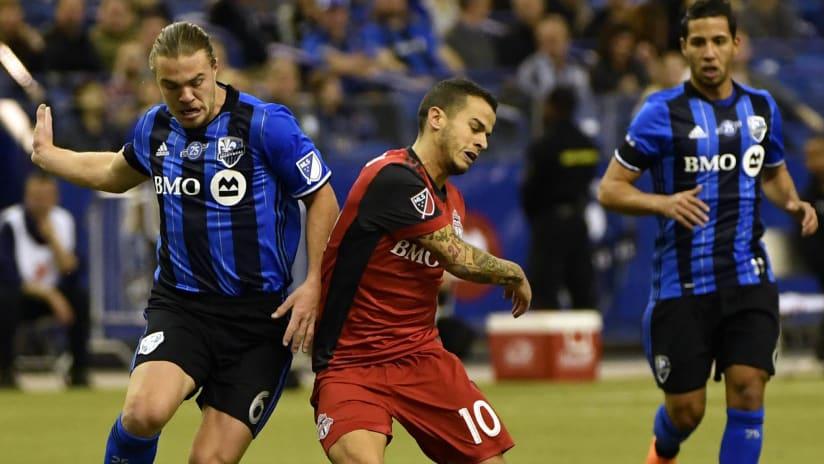 Samuel Piette - Montreal Impact - Sebastian Giovinco - Toronto FC