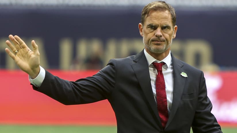 Frank de Boer – Atlanta United –before game1