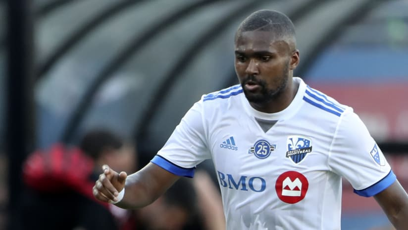 Chris Duvall - Montreal Impact - isolated