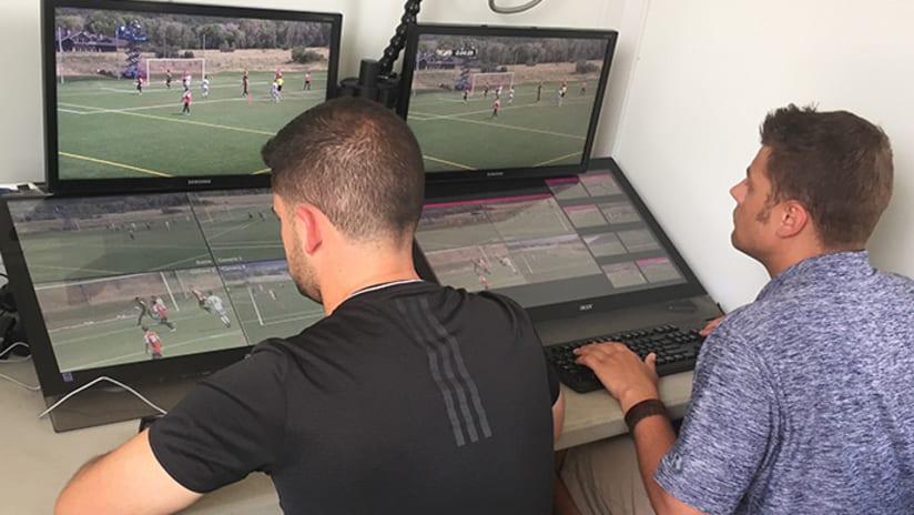 Video Review operators using Hawkeye technology