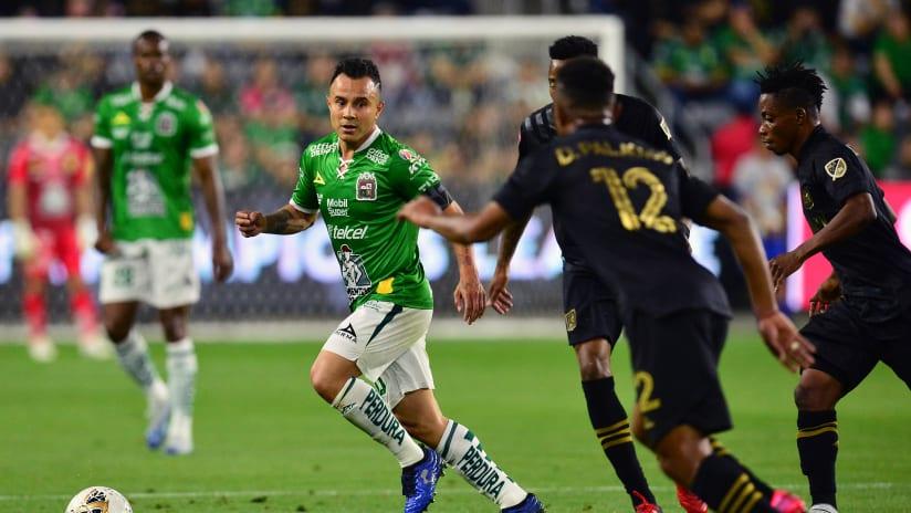 Luis Montes- Leon vs LAFC - CCL