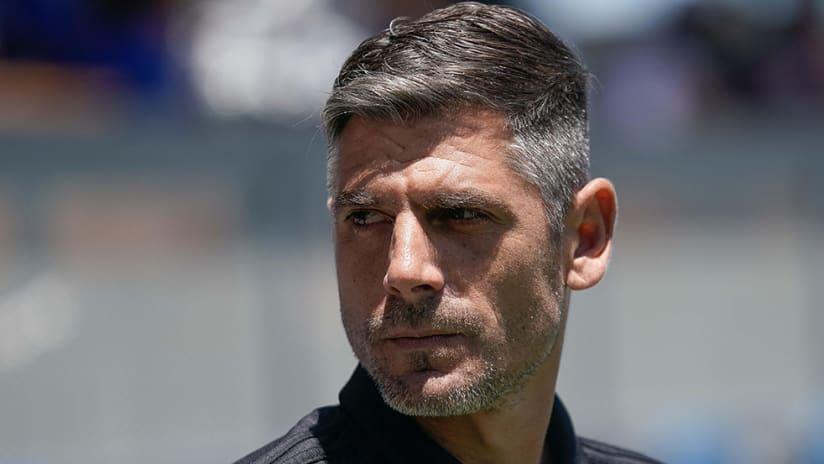Luchi Gonzalez - FC Dallas - intense look
