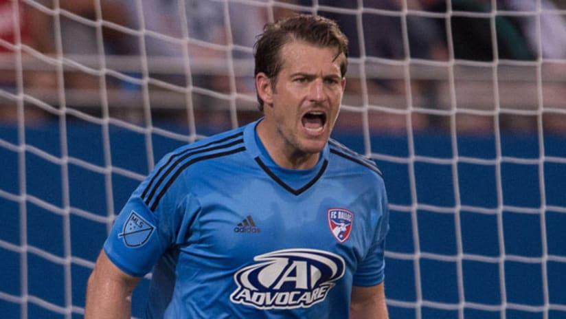 FC Dallas goalkeeper Dan Kennedy
