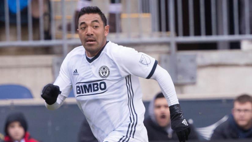 Marco Fabian - Philadelphia Union - Running close up