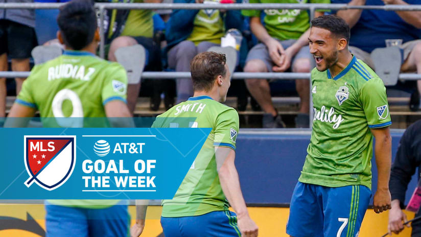 AT&T Goal of the Week - Week 11 - 2019 - Cristian Roldan