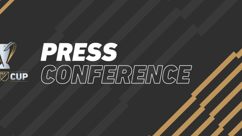 MLS Cup - Press Conference