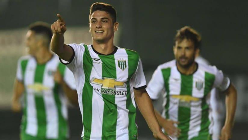 Julian Carranza - Banfield - reported Inter Miami target