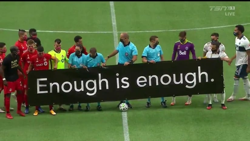 Enough is enough - Vancouver Whitecaps, Toronto FC - September 5, 2020