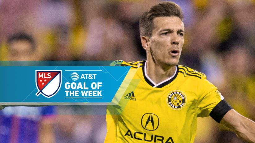 Pedro Santos - Columbus Crew SC - Goal of the Week