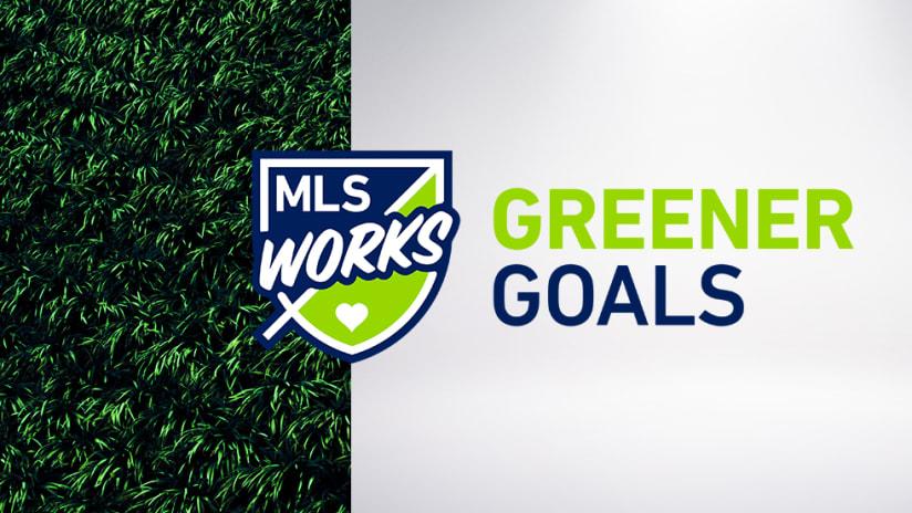 2019 Greener Goals - Primary Image