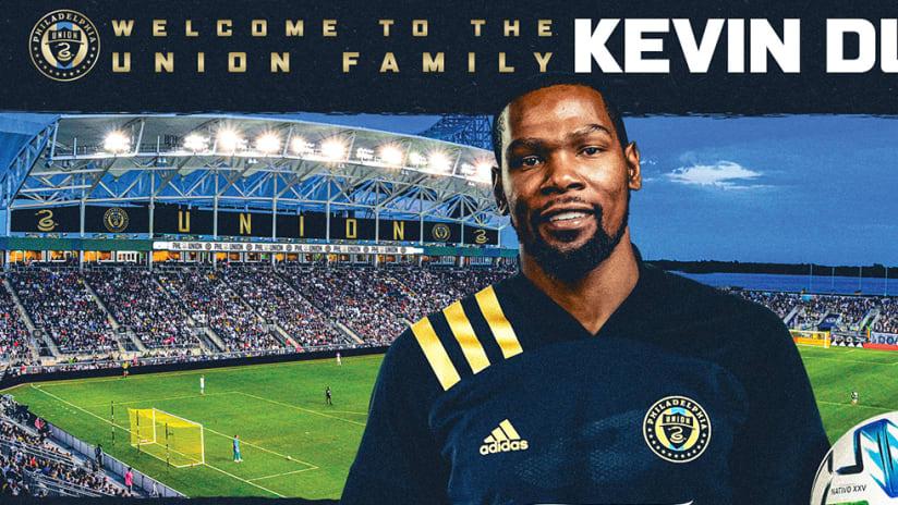 Kevin Durant - Philadelphia Union - ownership announcement