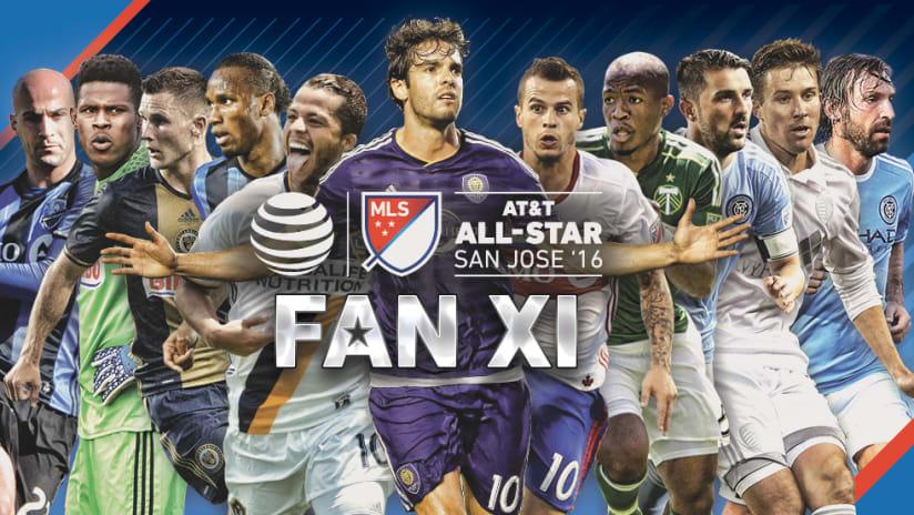 2016 AT&T MLS All-Star Fan XI DL image