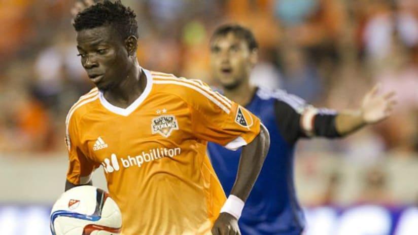 Houston Dynamo's Rasheed Olabiyi