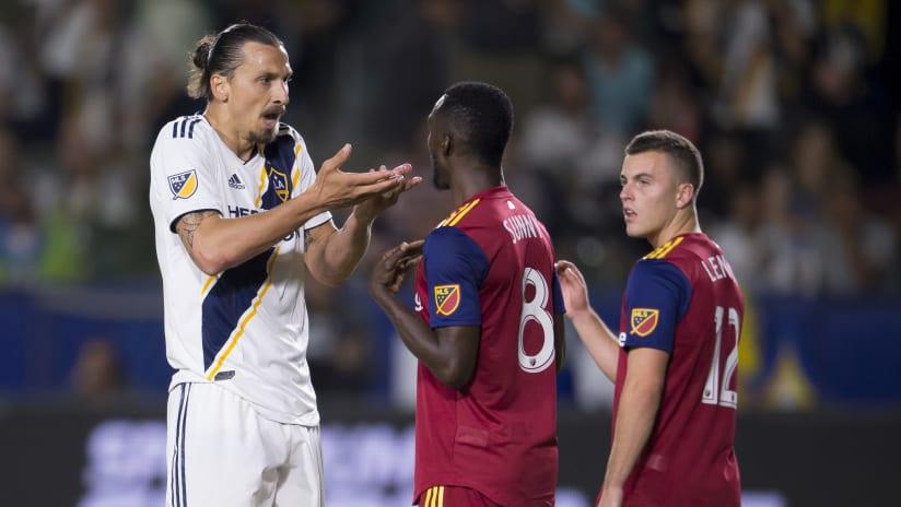 Zlatan Ibrahimovic - LA Galaxy Real Salt Lake