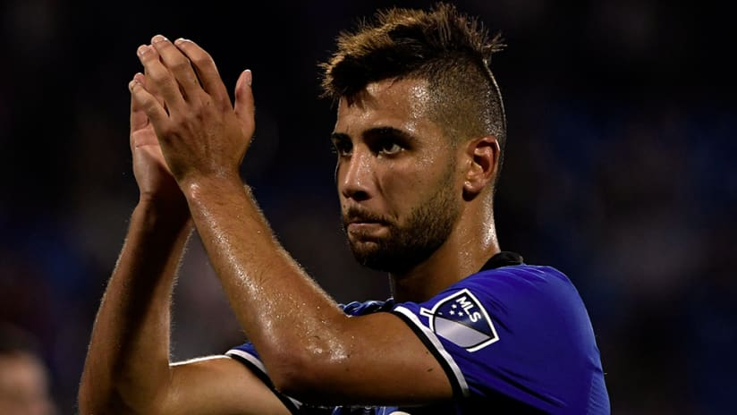Saphir Taider - Montreal Impact - Clapping