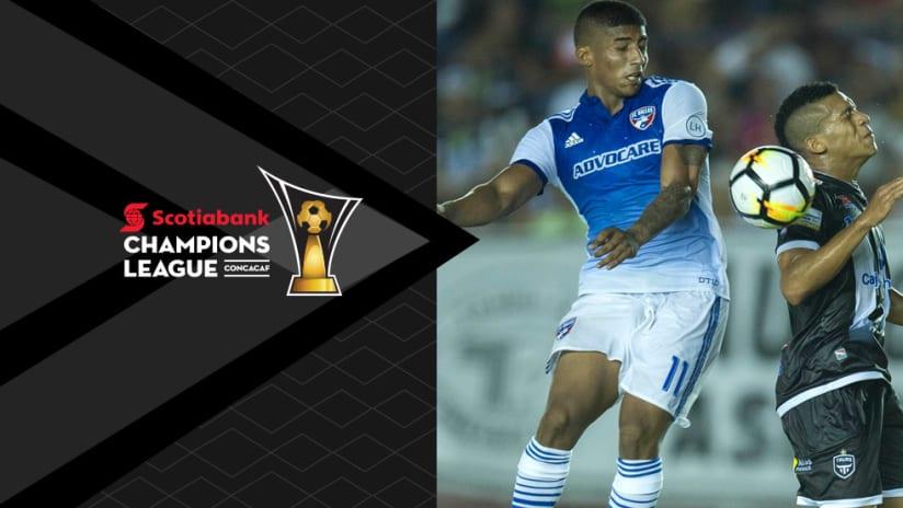 2018 CCL - Santiago Mosquera - FC Dallas - Tauro FC - Champions League