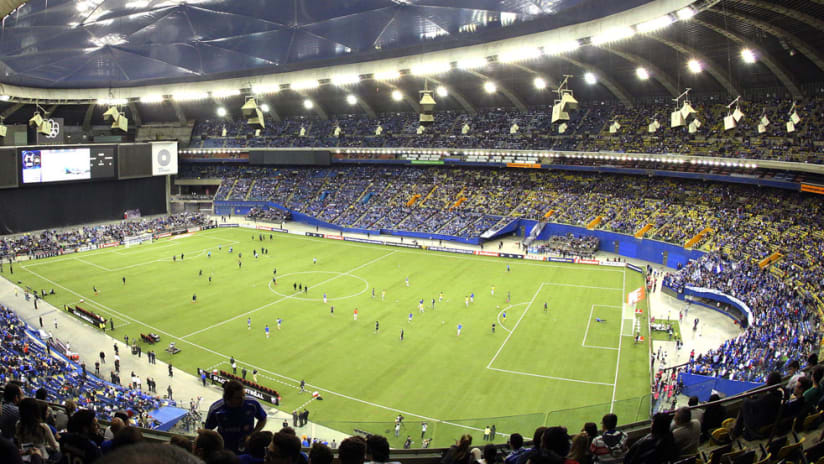 Olympic Stadium - CCL Final - Wide shot