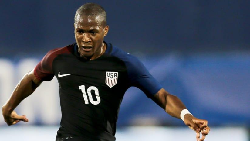 Darlington Nagbe - US national team - May 25, 2016