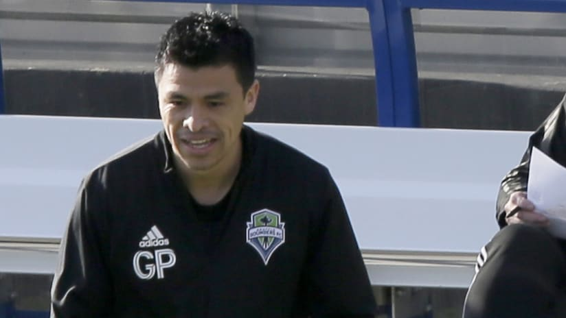 Gonzalo Pineda (thumb only) - Seattle Sounders