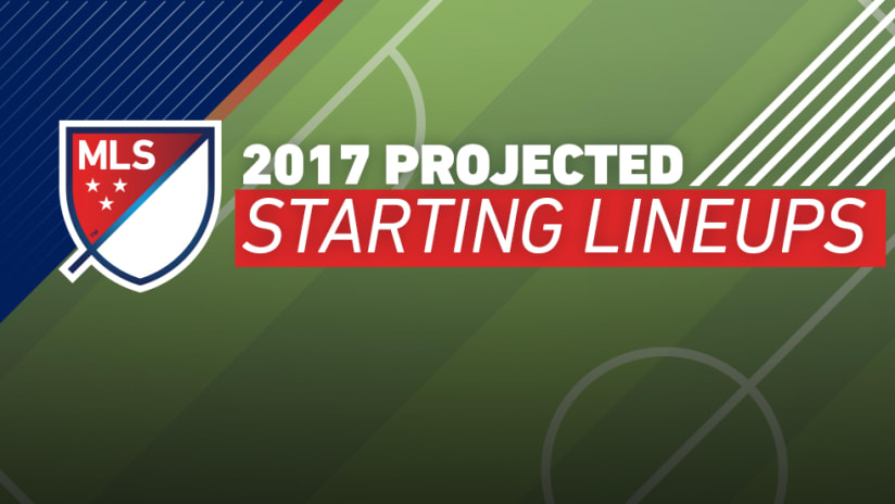 Projected 2017 Starting Lineups (January 26)