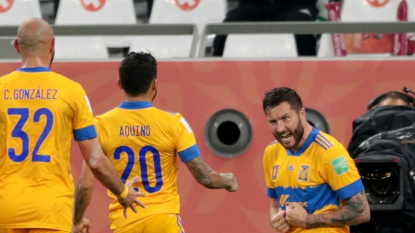 Andre Pierre-Gignac - Tigres UANL - Celebrating at club world cup